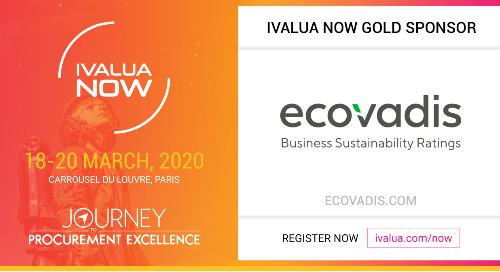 EcoVadis embarque dans le voyage de transformation des Achats Ivalua