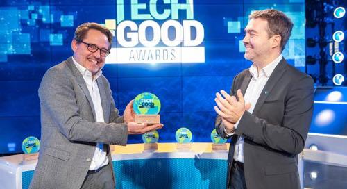 EcoVadis lauréat des Tech for Good Awards dans la catégorie «Action citoyenne»