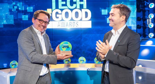 """EcoVadis winner of the Tech for Good Awards in the """"Corporate Citizenship"""" category"""
