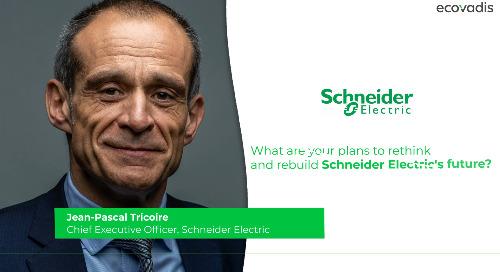 Schneider Electric veut être un modèle mondial en décarbonation