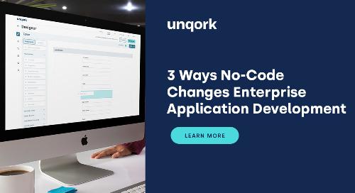 3 Ways No-Code Changes Enterprise Application Development