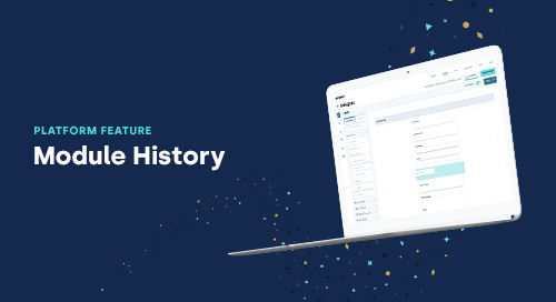 Feature in Focus: Module History