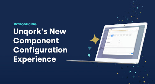 Announcing Unqork's New Component Configuration Experience