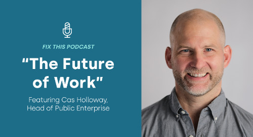 Listen: Cas Holloway on AWS' Fix This Podcast