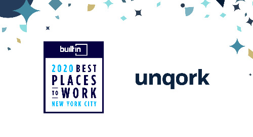 Unqork Ranked #1 of 100 Best Places to Work in NYC