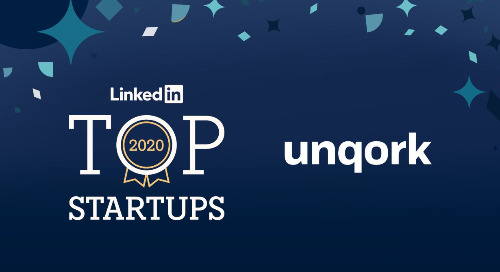 LinkedIn Names Unqork One of the Country's Top Startups