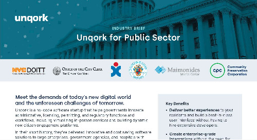 Industry Brief: Unqork for Public Sector