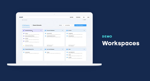 Demo: Workspaces