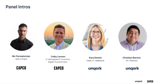 Webinar: Capco + Unqork for Enterprise Workforce Resilience & Risk Management