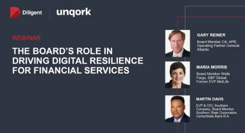 Webinar: The Board's Role in Building Digital Resilience