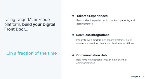 Transformation in 21: Rapidly build your organization's digital front door with no-code