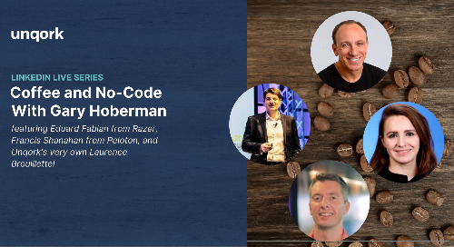 Episode 3: #CoffeeAndNoCode with Gary Hoberman