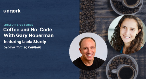 Episode 2: Coffee and #Nocode with Gary Hoberman and Laela Sturdy
