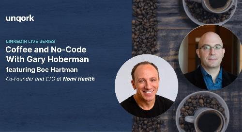 Episode 5: #CoffeeAndNoCode with Gary Hoberman
