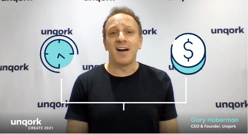 Create 2021 Keynote: Unqork CEO Gary Hoberman on the Promise of the Legacy-Free Enterprise
