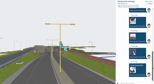 Track infrastructure projects in real time: watch an example