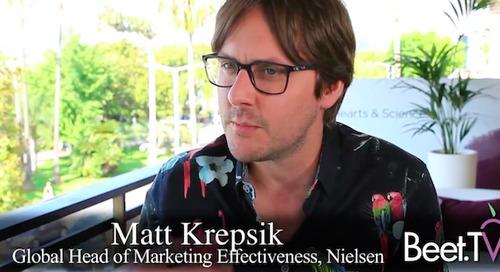 Nielsen's Matt Krepsik Urges a Return to Brand Building