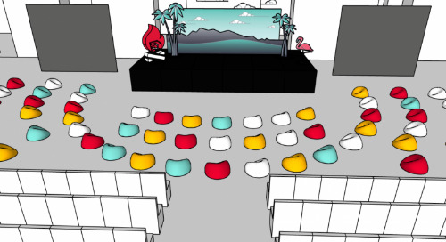 Event planning made easy with SketchUp