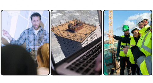 Trimble Visiting Professionals Program: Connecting today's industry pioneers with tomorrow's industry leaders