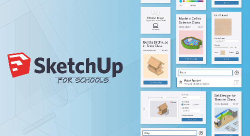 School is back in session: new features in SketchUp for Schools