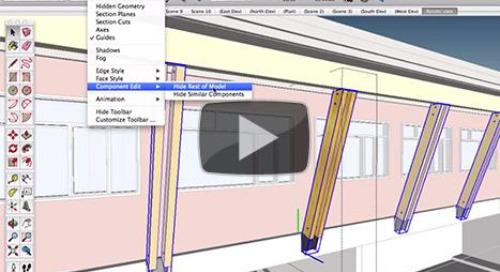 SketchUp Skill Builders: Model smarter, faster