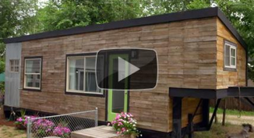 How to live in a tiny house... with a ginormous dog