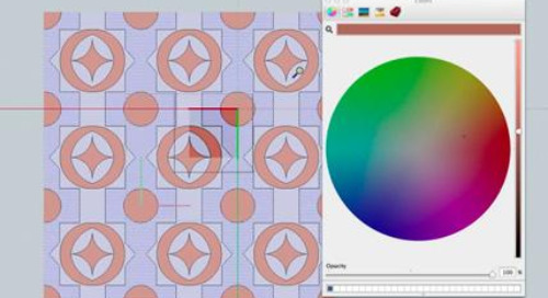 Drawing patterns in SketchUp and LayOut