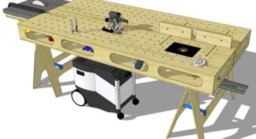 The Paulk Workbench: a SketchUp story
