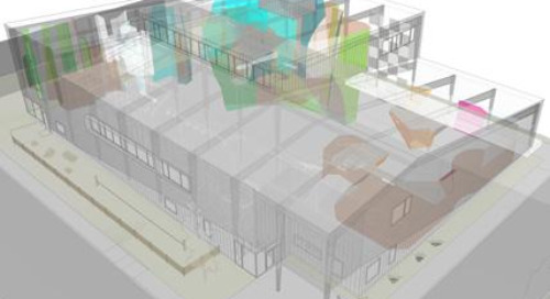 Scaling the wall: a climbing gym comes to life in SketchUp