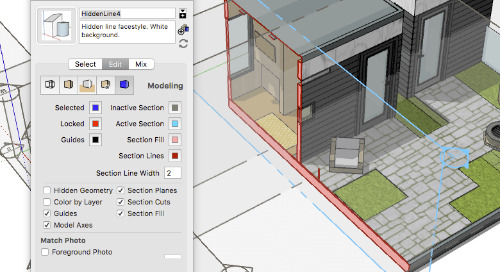 Five things you need to know about Section Planes in SketchUp Pro