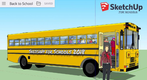 SketchUp for Schools Checklist: Eight New Features to Rock the School Year