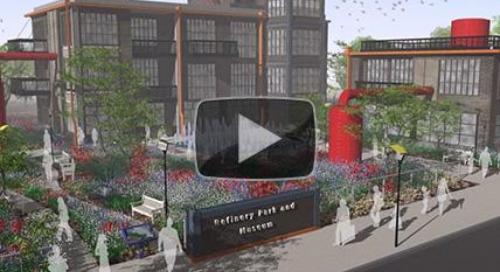 Stunning landscape architecture animations