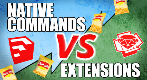 Native Commands vs. Extensions: Modeling a Bag of Chips