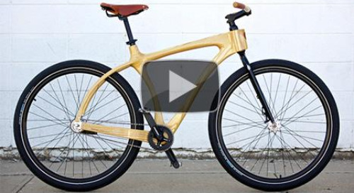 Taking a ride with Connor Wood Bicycles