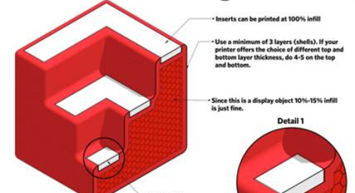 Get started with 3D printing: make the SketchUp logo