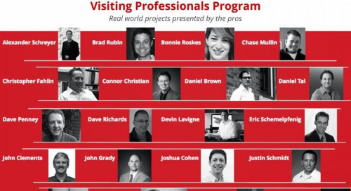 Announcing the Visiting Professionals Program for Higher Education