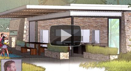 StudioJDK: Utilizing SketchUp, Photoshop, V-Ray, and Vue to create stunning illustrations