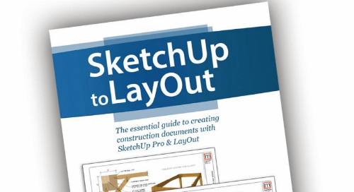New book: SketchUp to LayOut