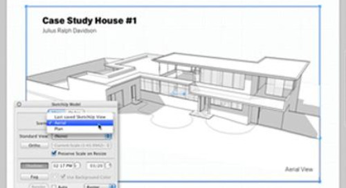 Connecting SketchUp Scenes to LayOut model viewports