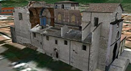 Rebuilding L'Aquila in 3D with SketchUp