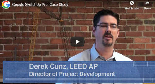 SketchUp Pro in construction - video case study