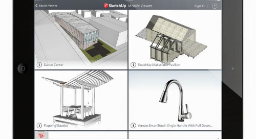 Oh hai, SketchUp Mobile Viewer!