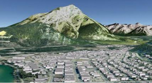 Banff puts itself on the 3D map