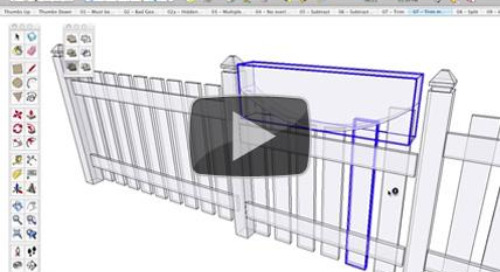 Introducing the Solid Tools in SketchUp Pro 8