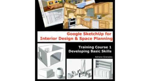 New SketchUp books for interior designers