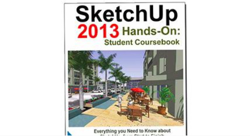 A textbook for teaching SketchUp