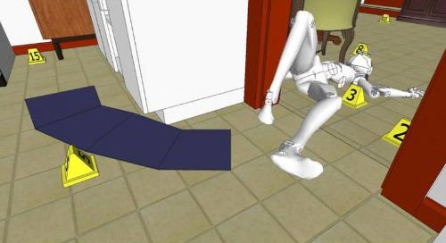 SketchUp for crime scene reconstruction