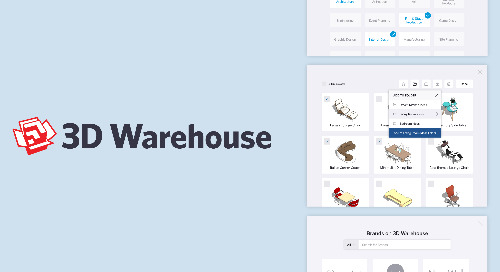 Craving workflow efficiency? 3D Warehouse has got your back with new features