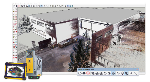 Turn point clouds into 3D models with Scan Essentials