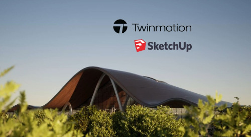 SketchUp and Twinmotion: Real-time immersive 3D Arch Viz